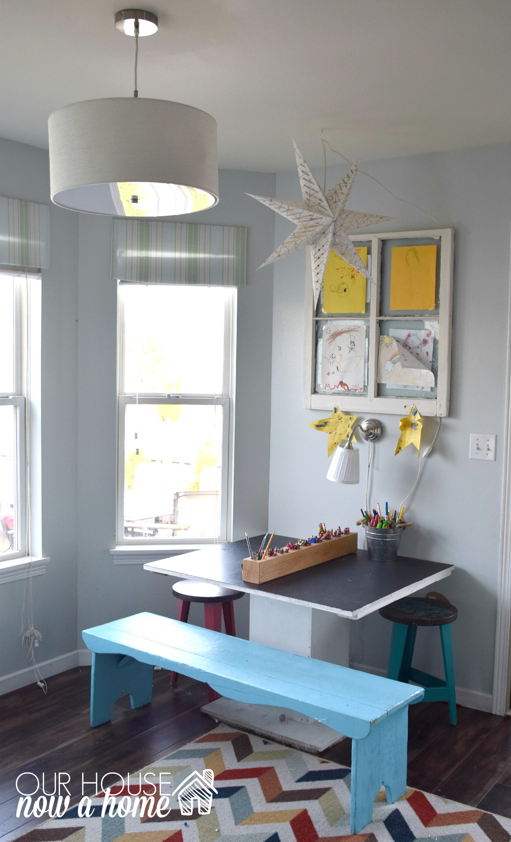 kids homework room