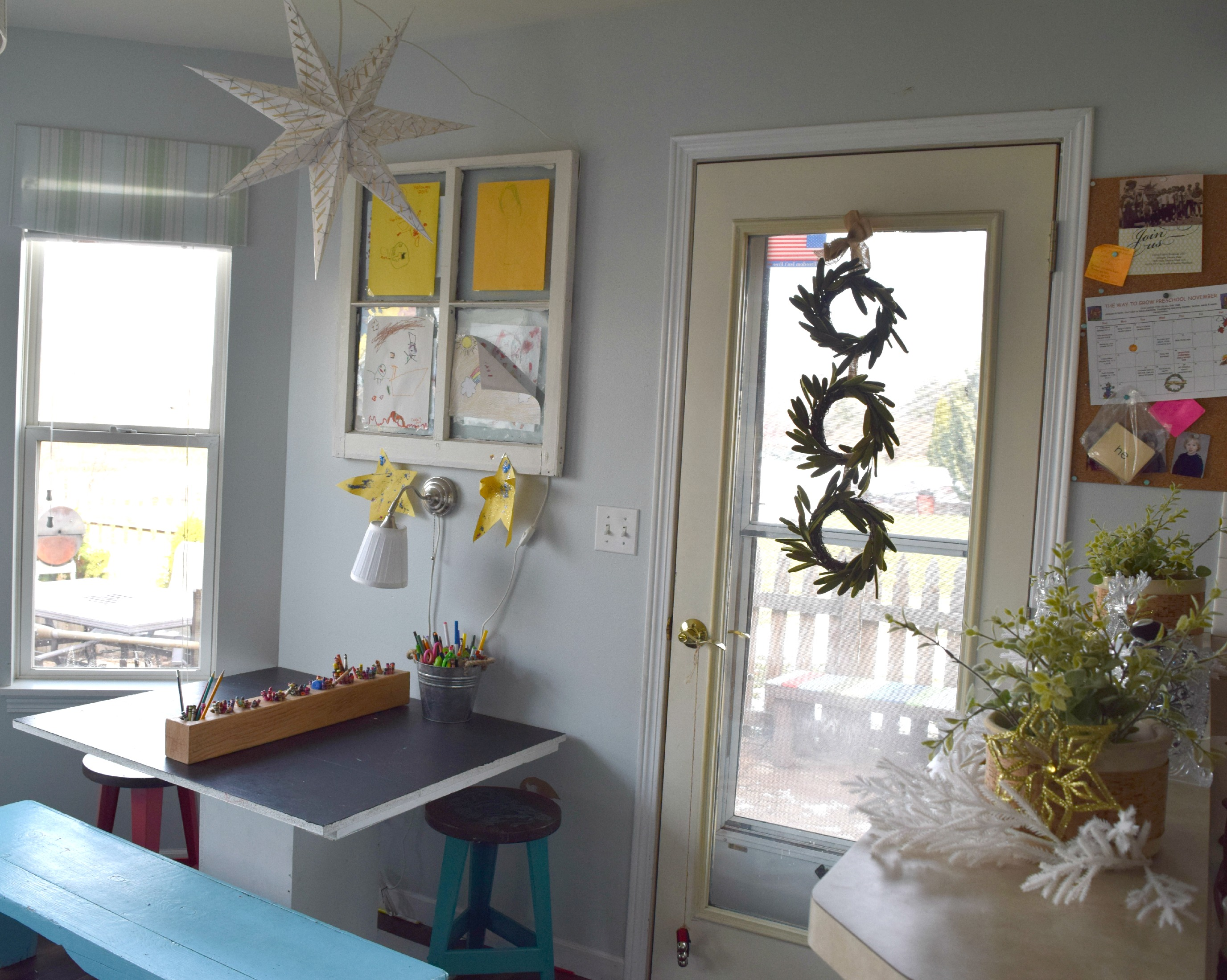 kids space christmas decor