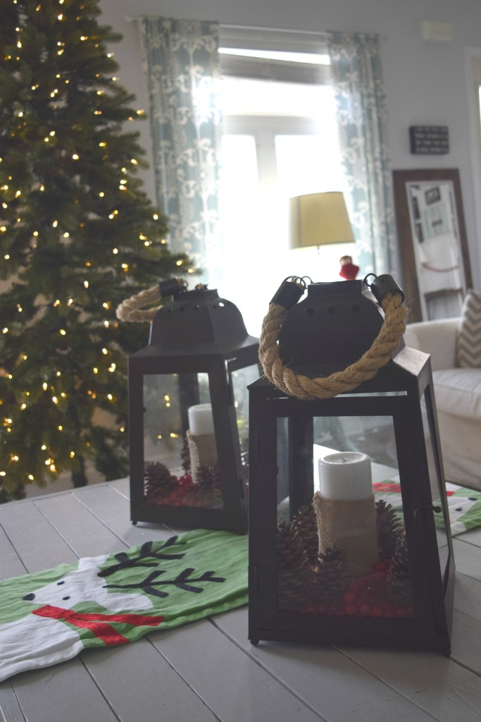 lantern christmas decor ideas