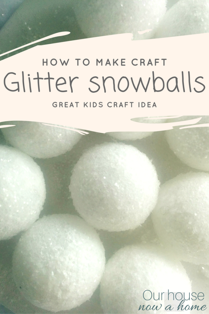 quick tips to create DIY snowballs for Christmas