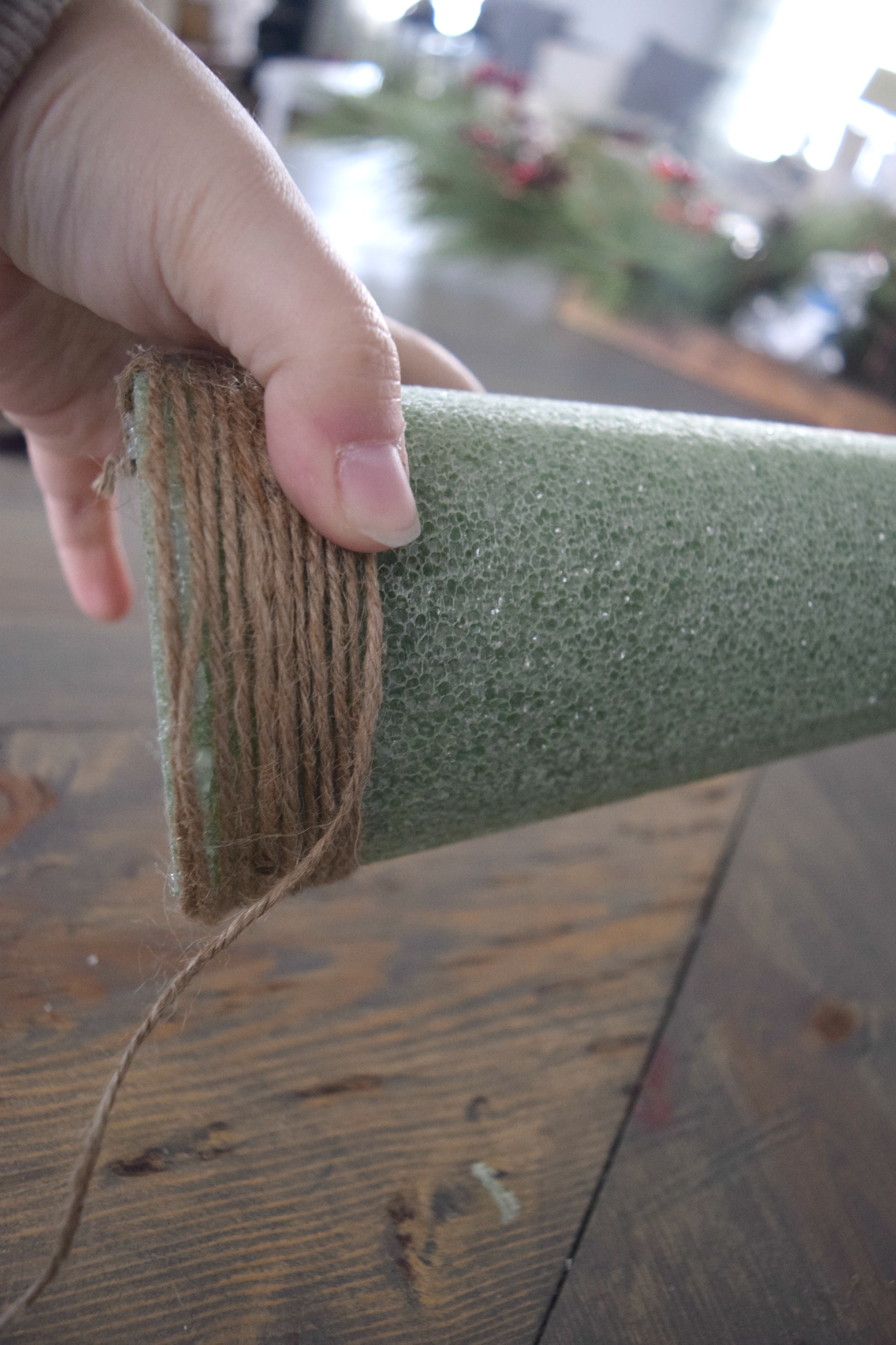 wrapping twine craft