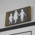 A silhouette giveaway and creating new wall art