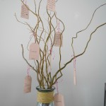 Family love tree, a simple Valentines day craft