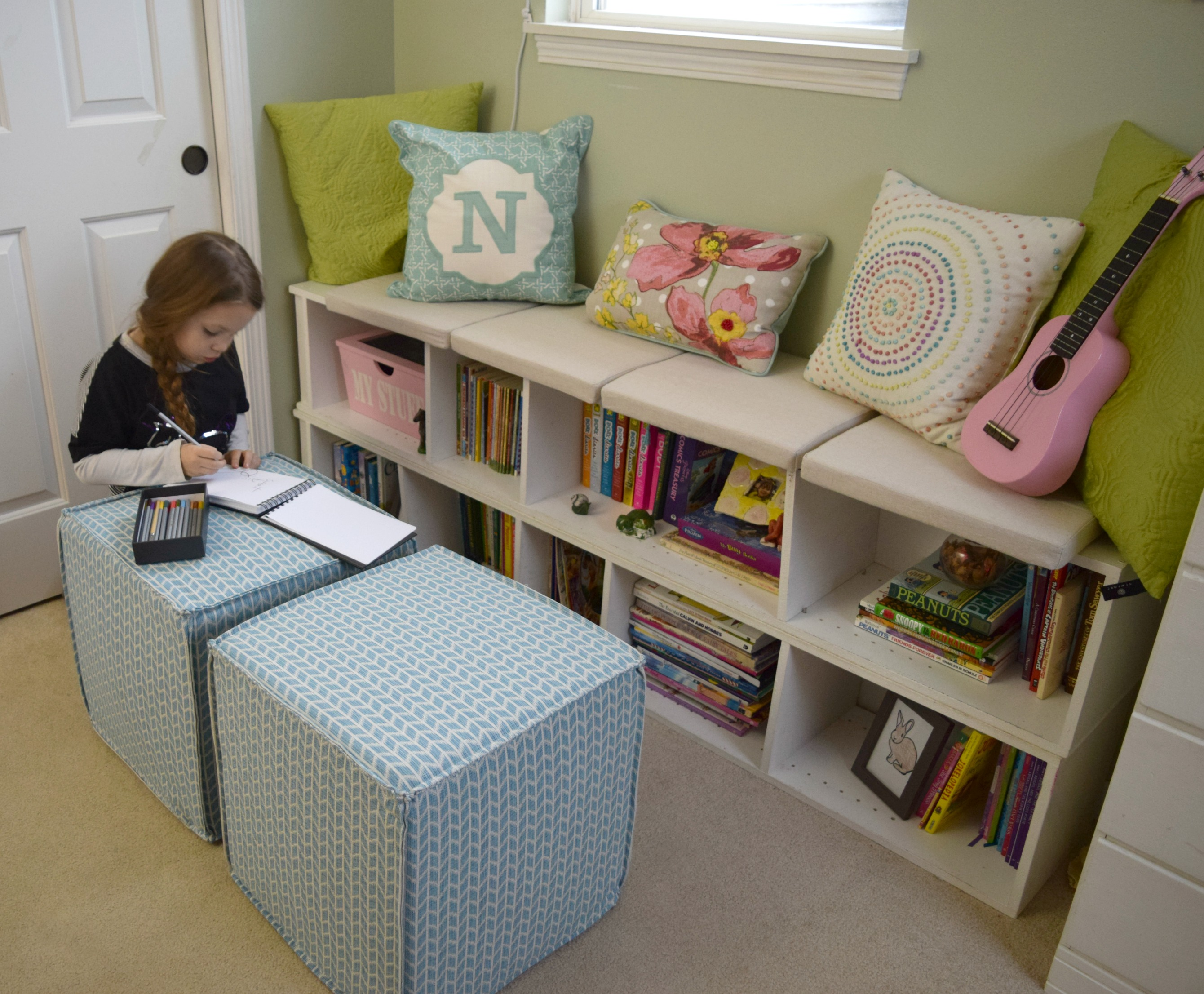 Creating a simple window seat