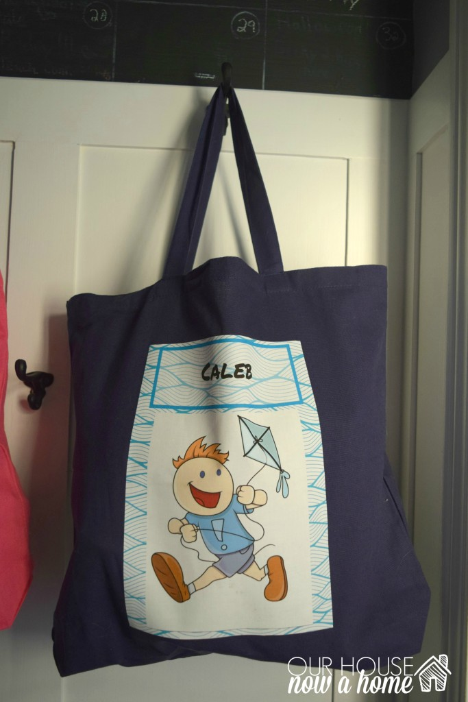 kid flying kite custom tote