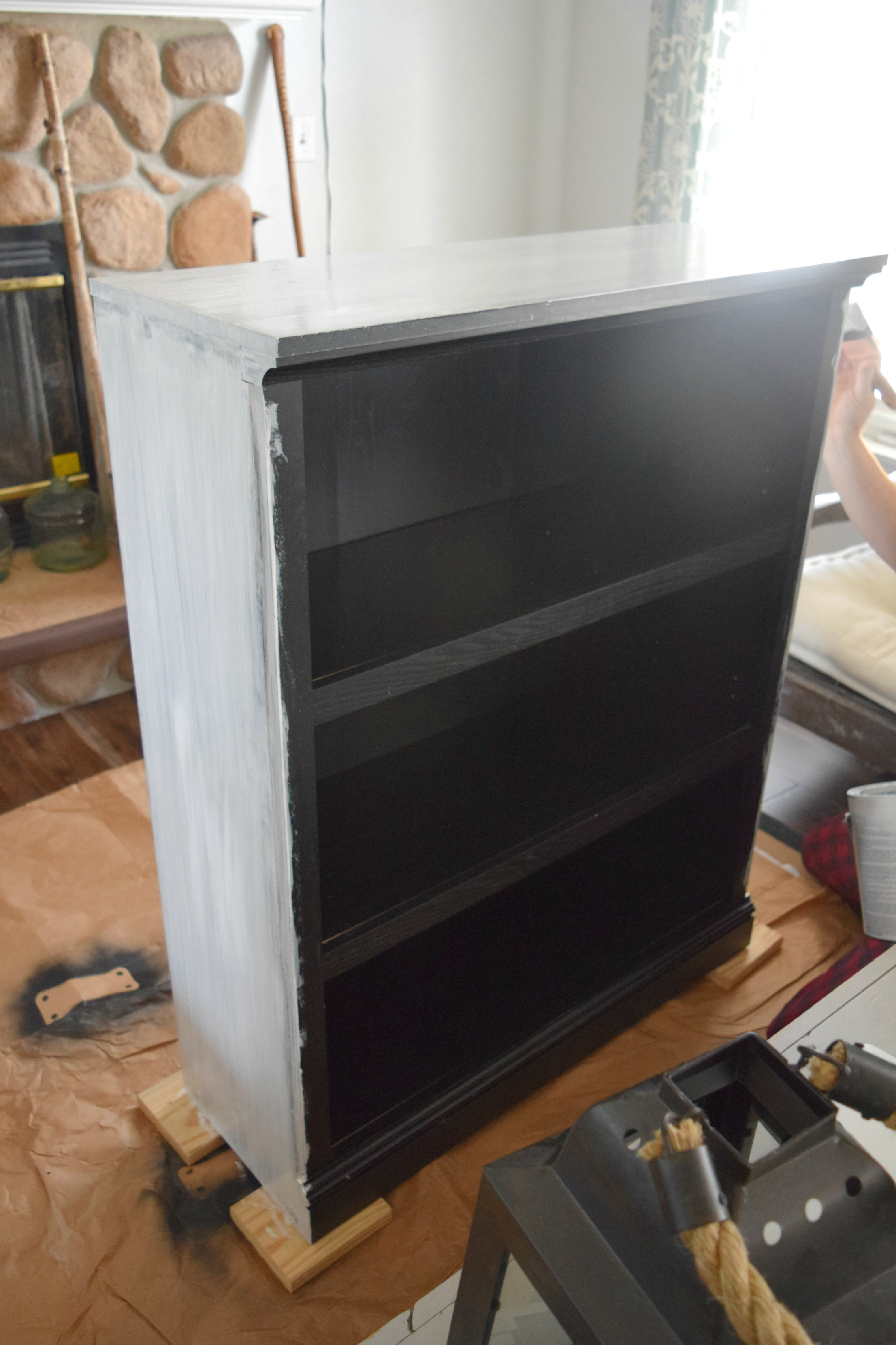 painting shelf