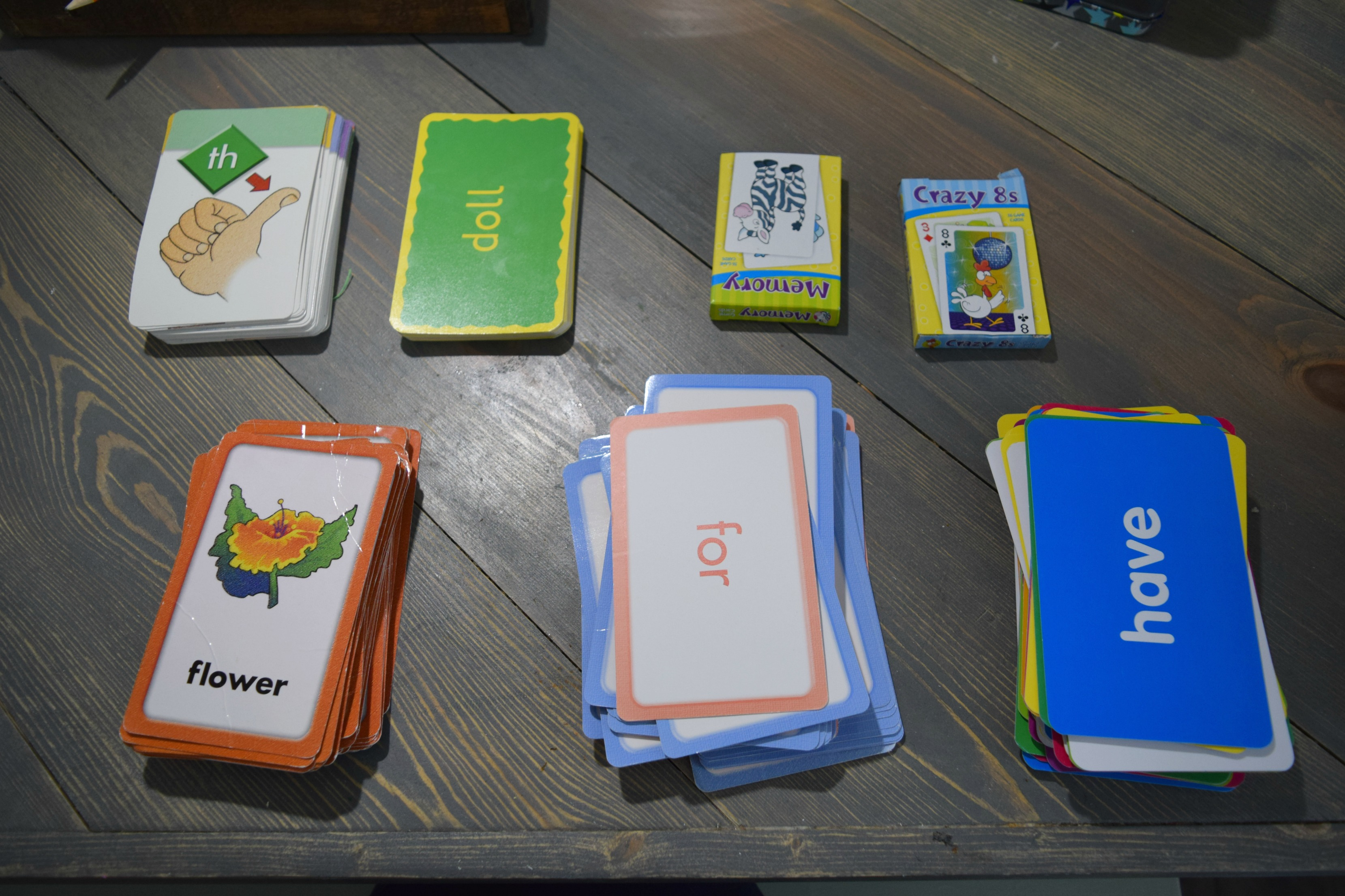 sorting-flashcards