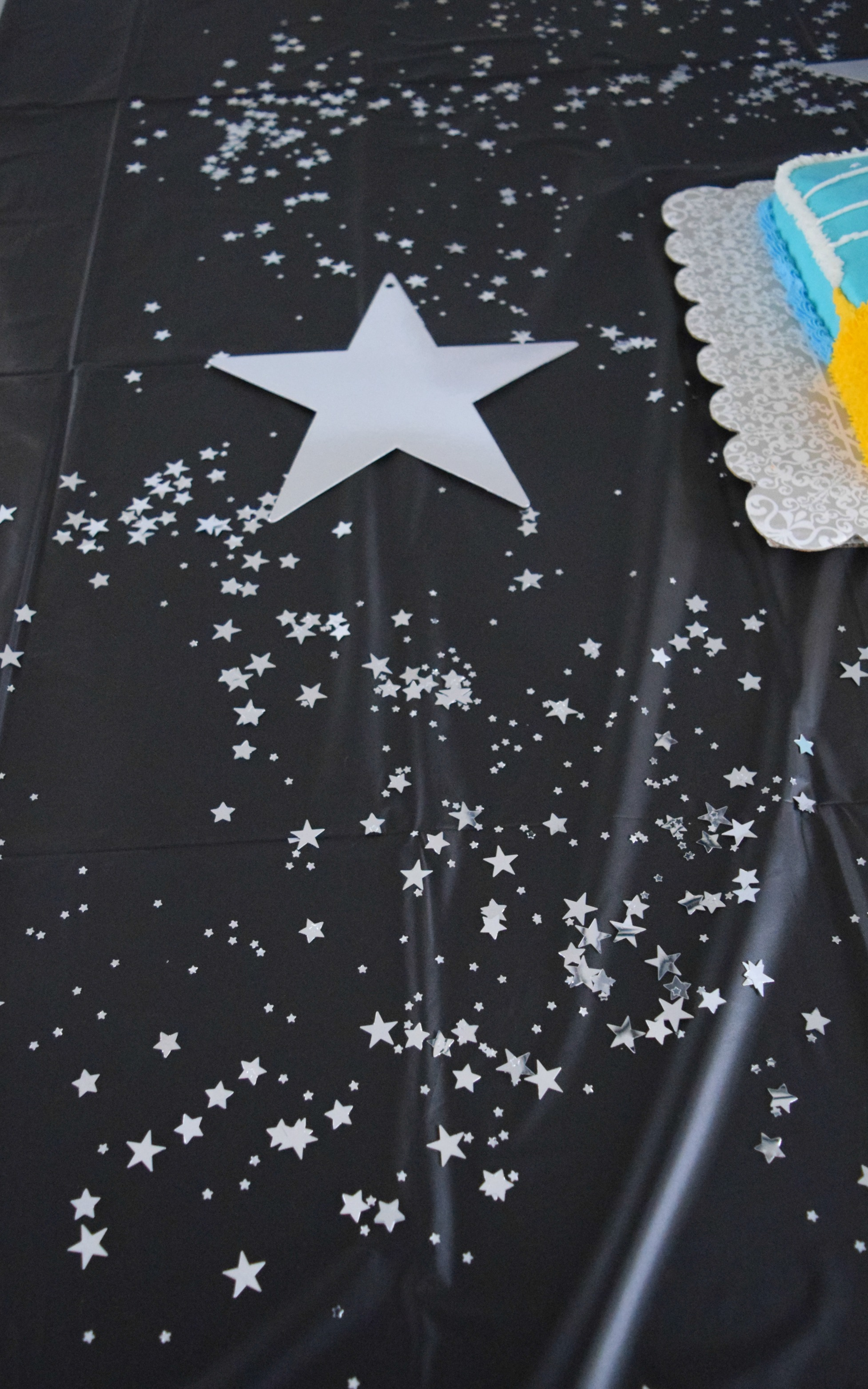 star birthday decor