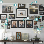 How to update a gallery wall, making a statement
