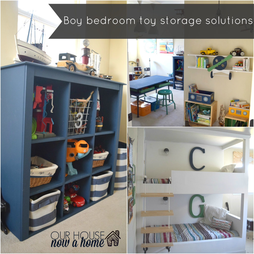 Boy Bedroom Storage