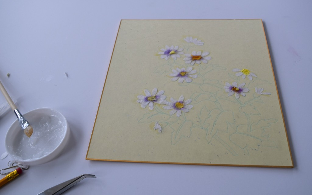 finishes daisies