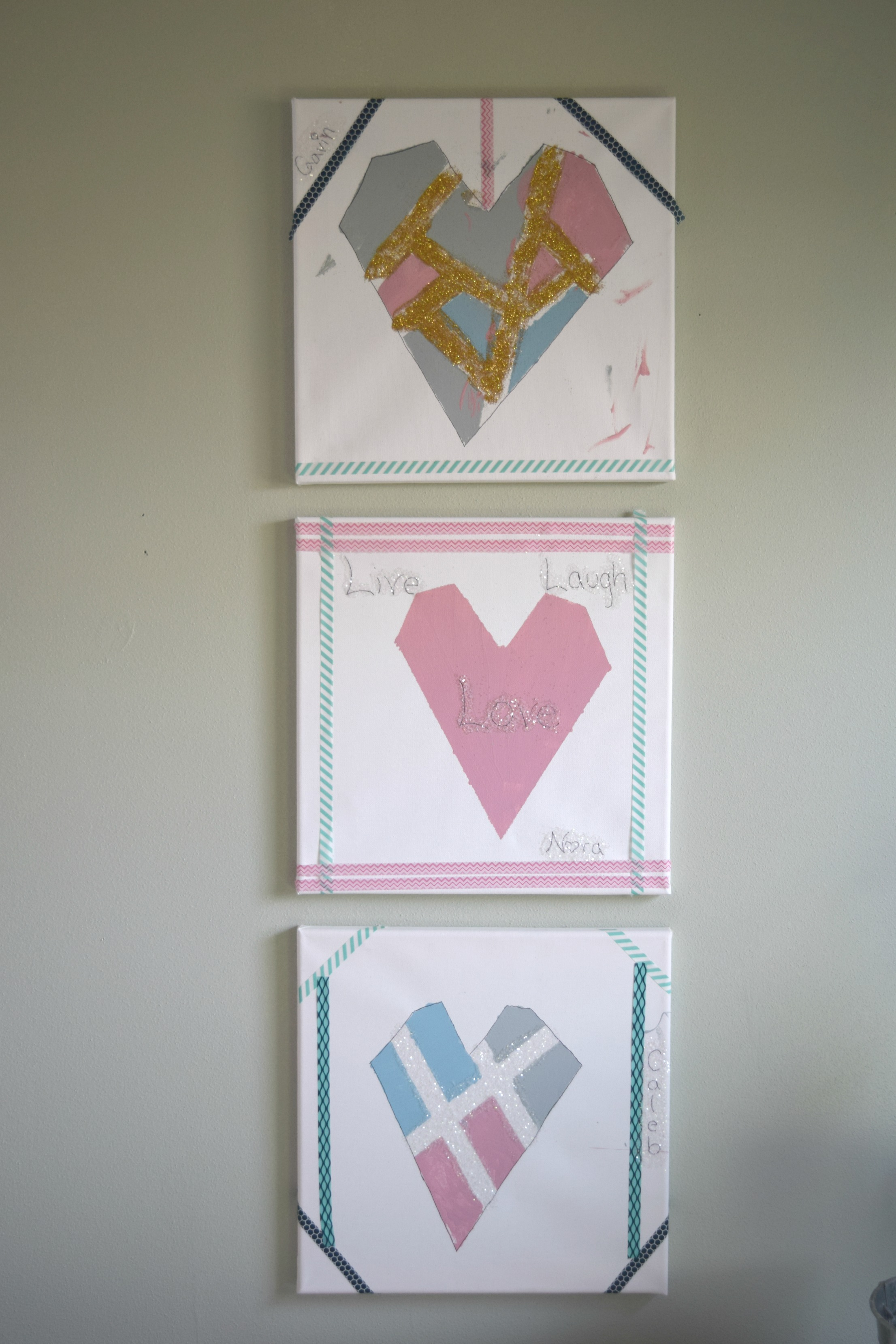 Valentines crafts diy wall art and a magazine feature Arts and crafts home magazine