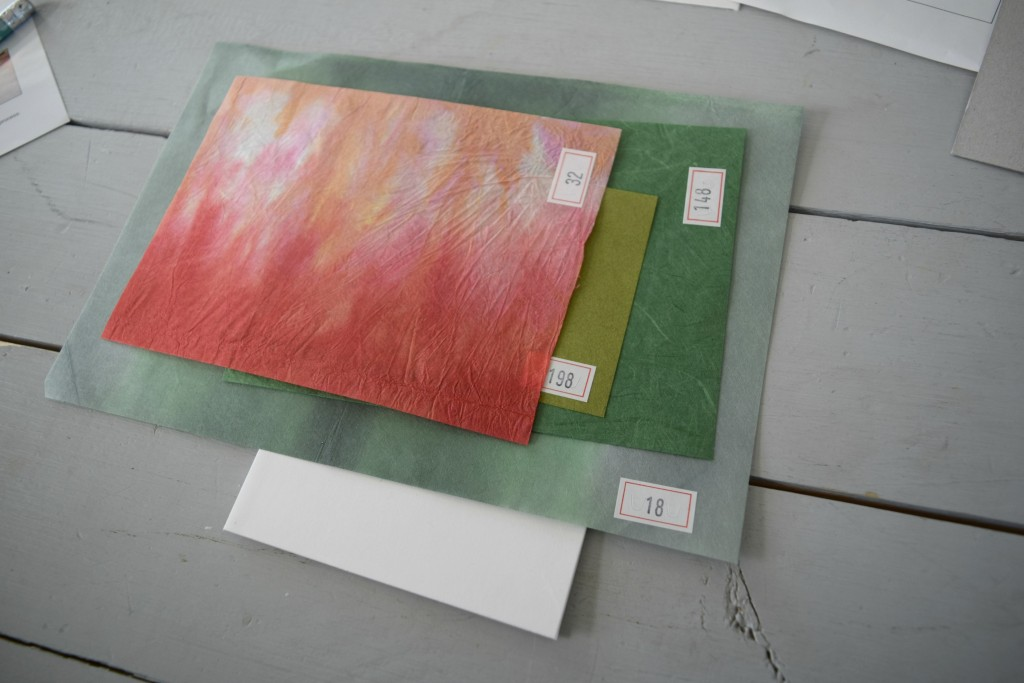 layering paper