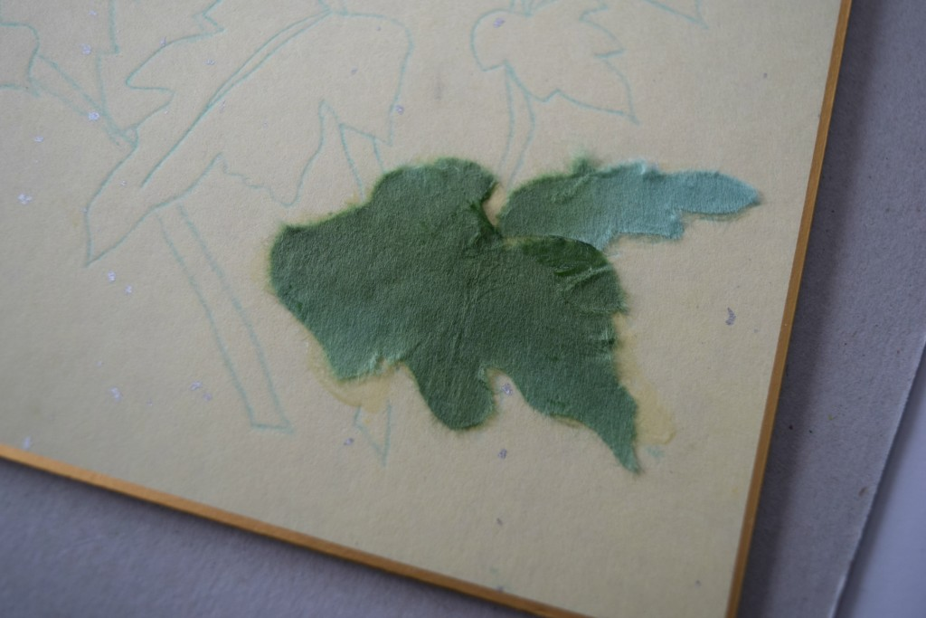 making leaves