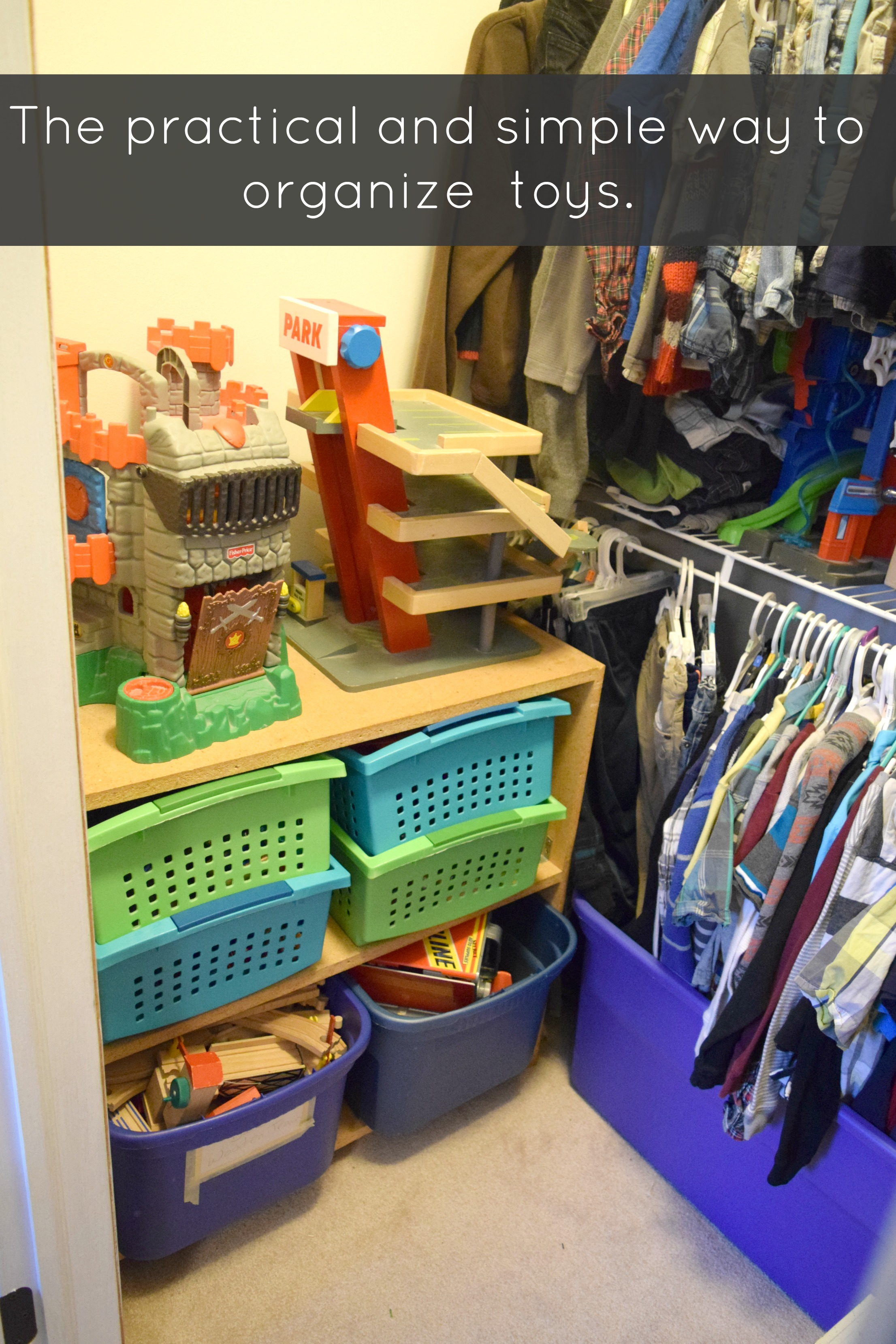 A Simple Way To Organize Toys Our House Now A Home