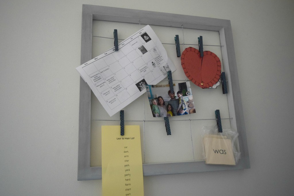paper wall organizer