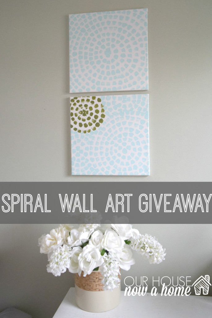 spiral wall art giveaway