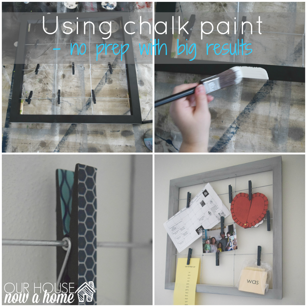 using chalk paint title