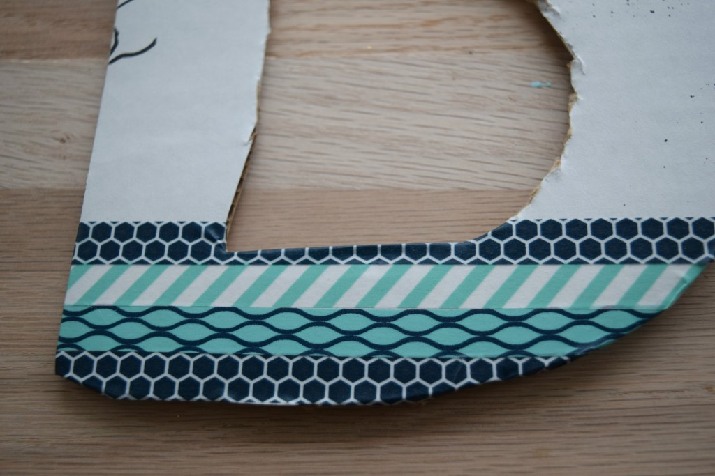 using washi tape for craft