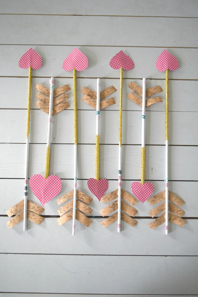 valentines day craft arrows