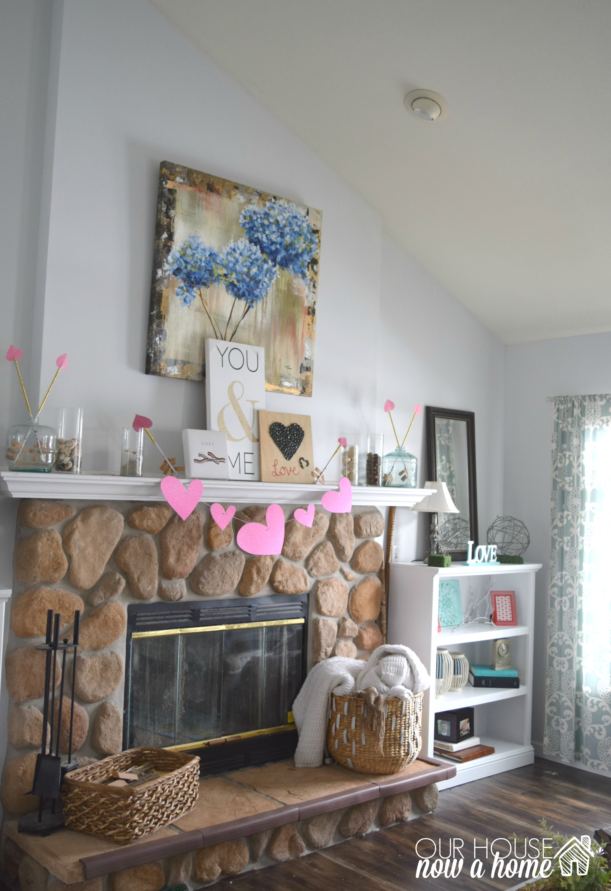 valentines day decorations free valentines printables our house now a home. Black Bedroom Furniture Sets. Home Design Ideas