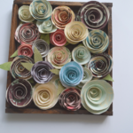 Paper flowers video tutorial