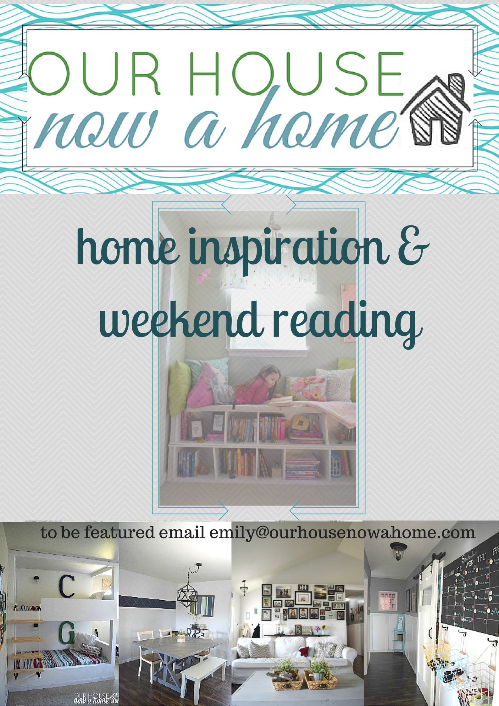 Home inspiration and weekend reading week 1