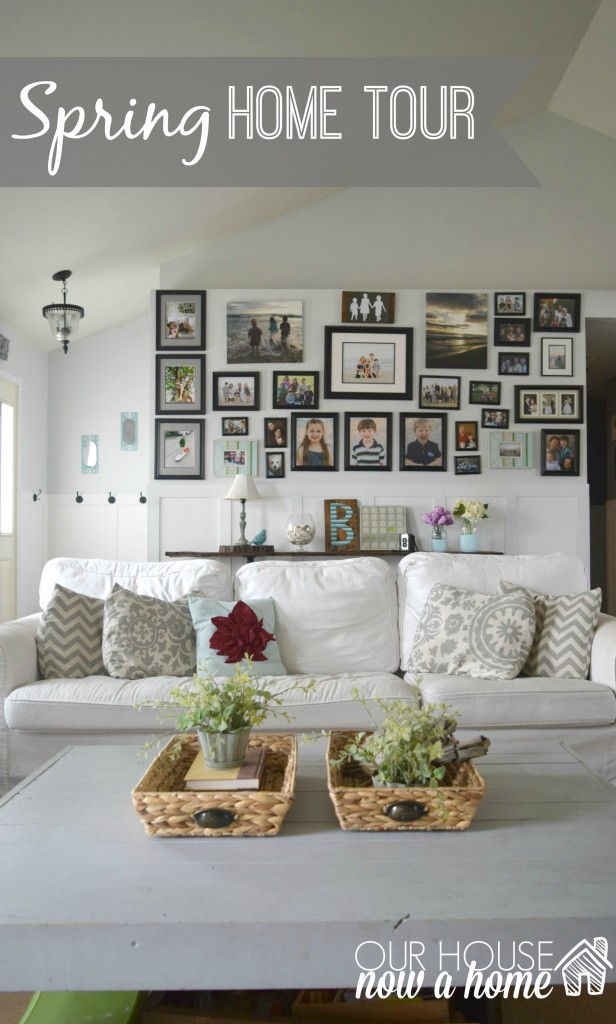 Spring home tour title