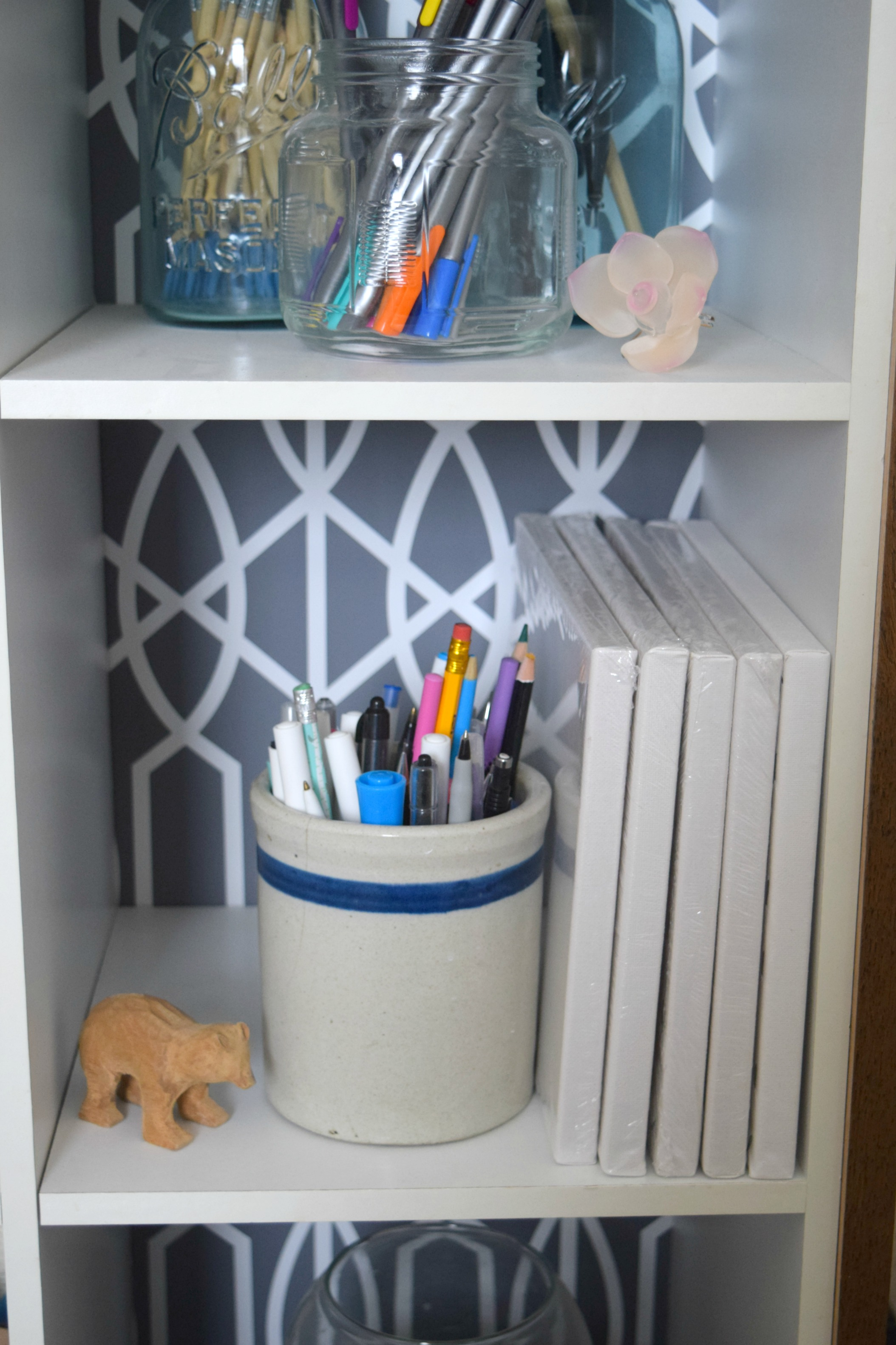 This Cabinet Upcycle, Creating Craft Supply Storage Is Done, And Full Of  Function And Style! U201cThese Are A Few Of My Favorite Thingsu201d.