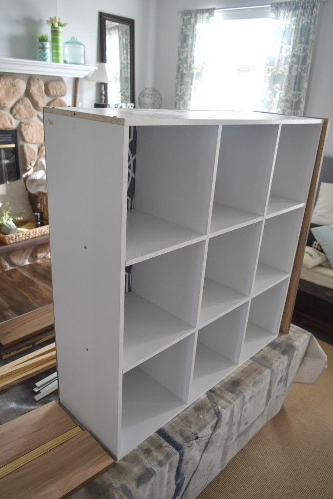cabinet with no wood sides