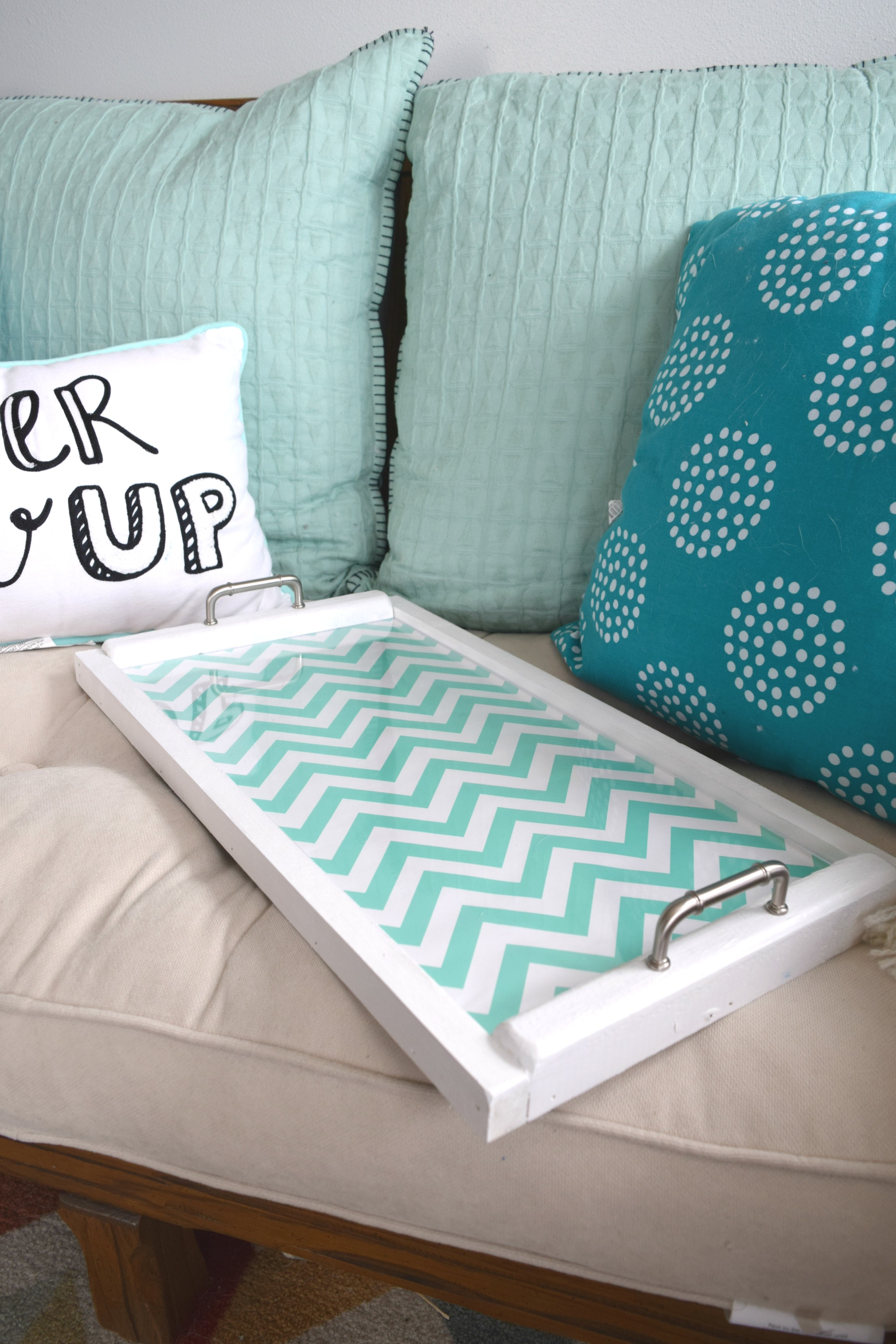 Diy Serving Tray Interchangeable Backing Our House Now A Home