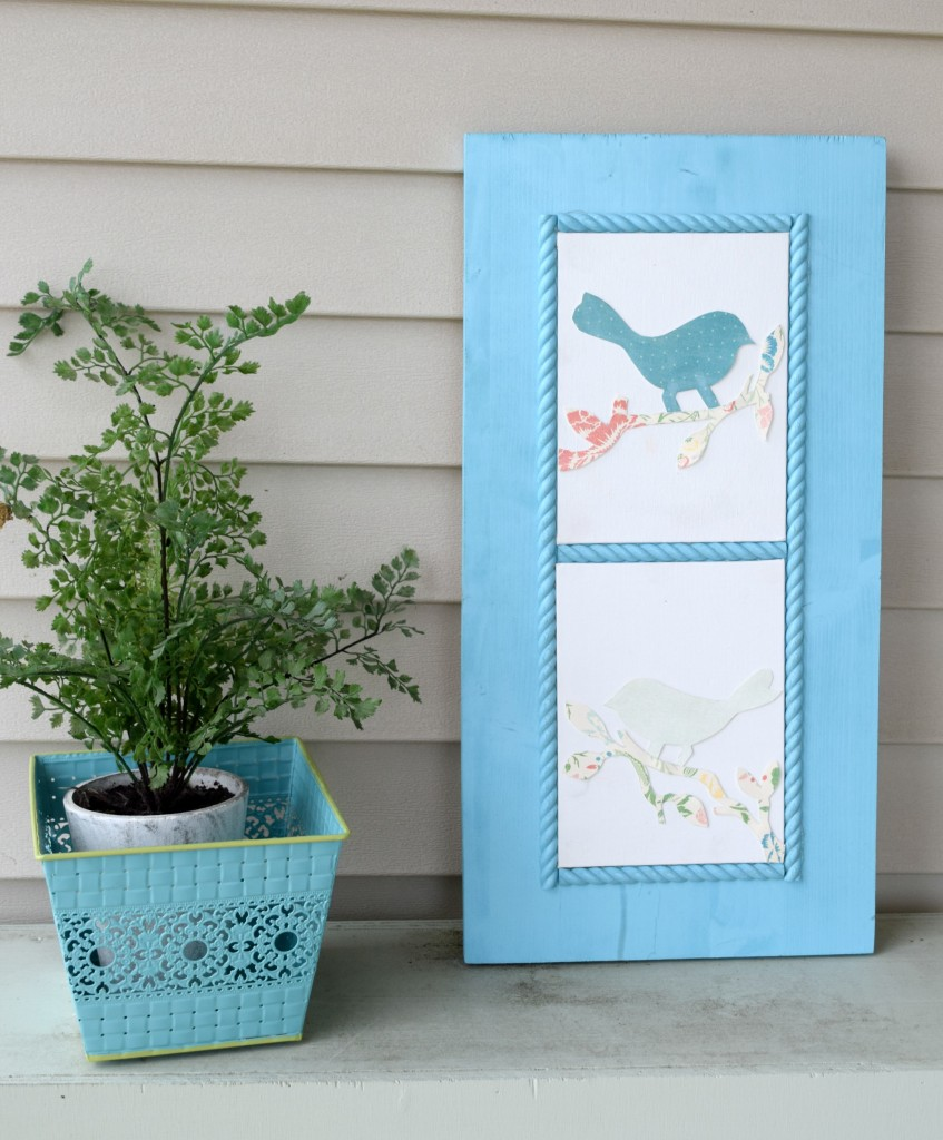 outdoor spring decor