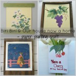 Paper painting, creative ways to display art