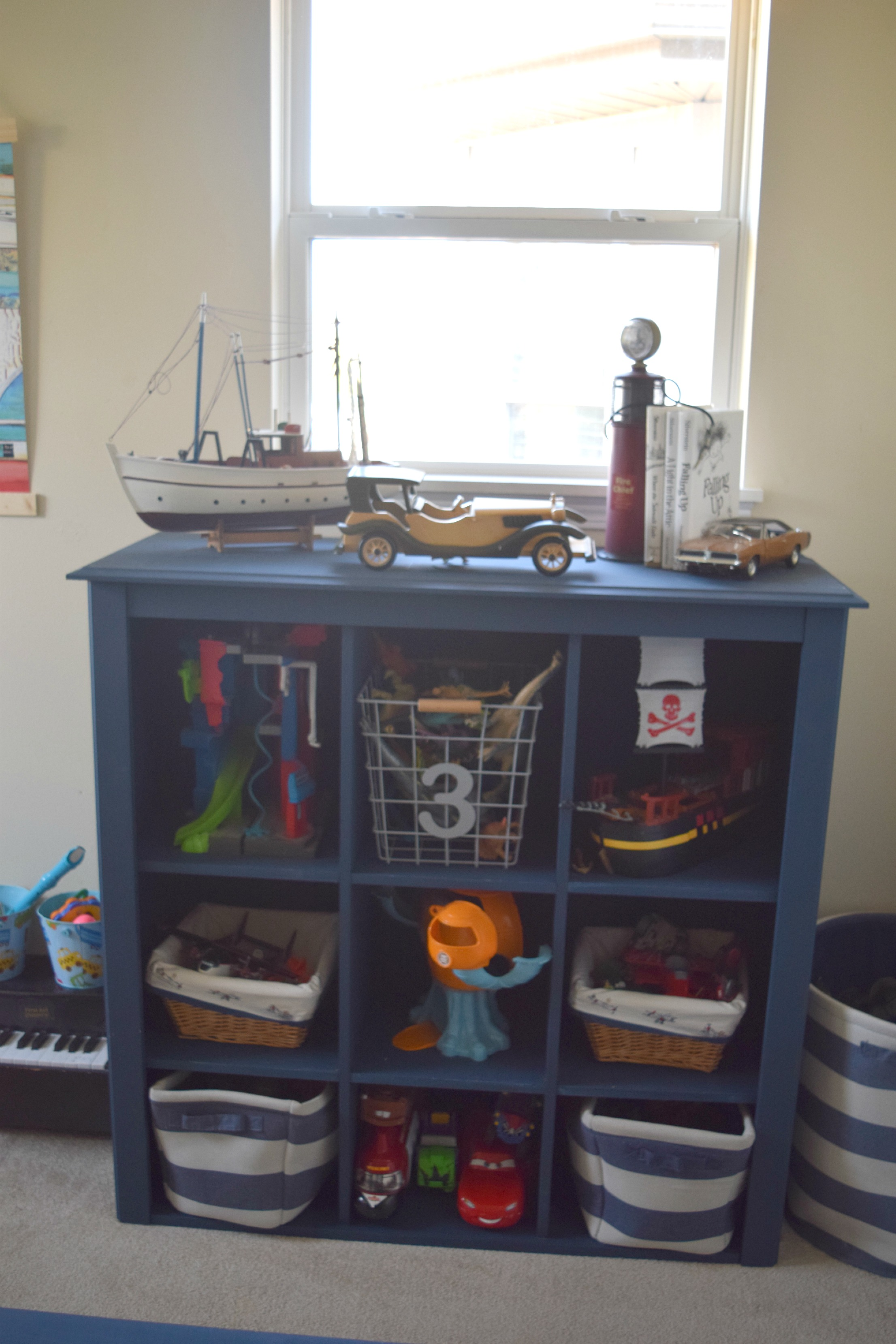 Toy storage bookshelf redo our house now a home Large toy storage ideas