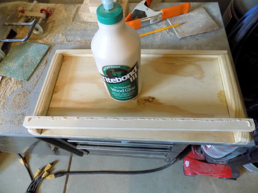 using wood glue