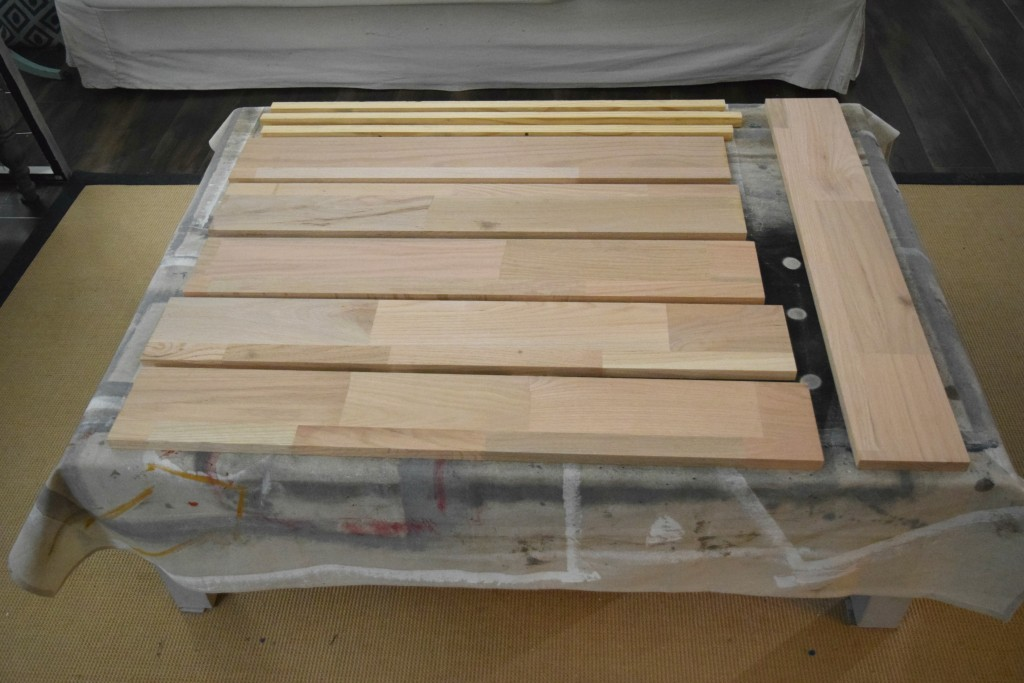 wood sides for cabinet