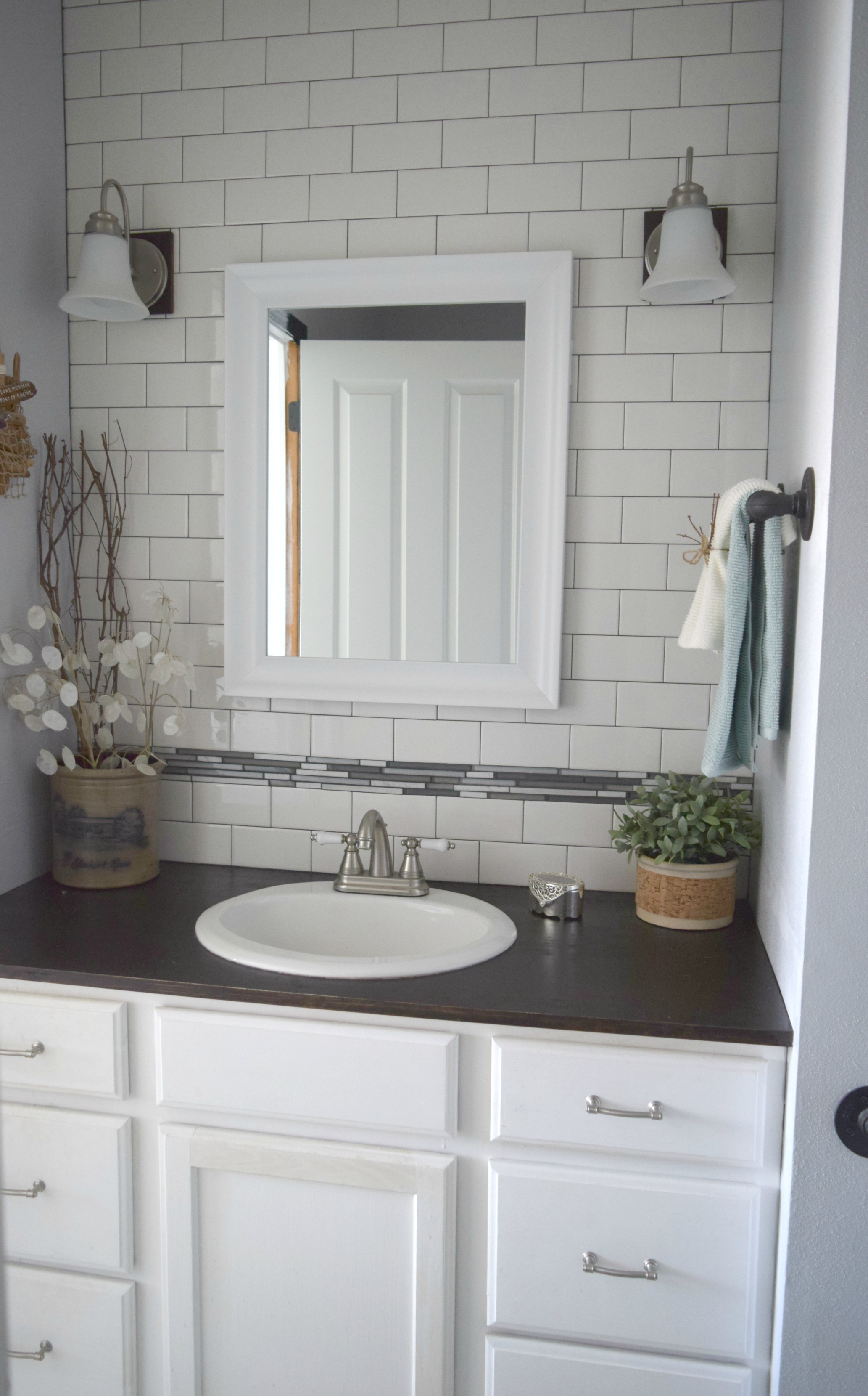 Simple bathroom updates • Our House Now a Home
