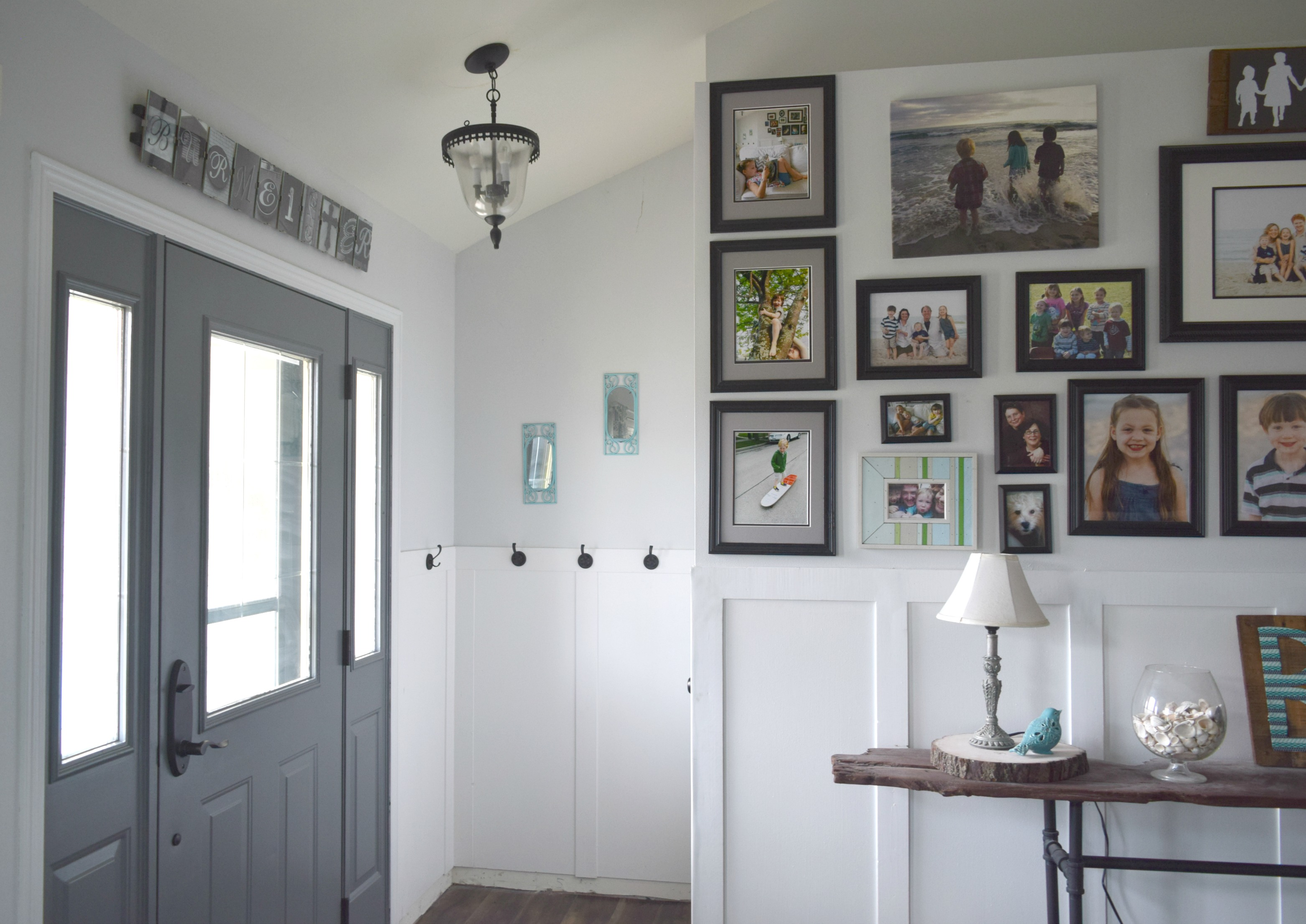 Front door makeover, how to paint