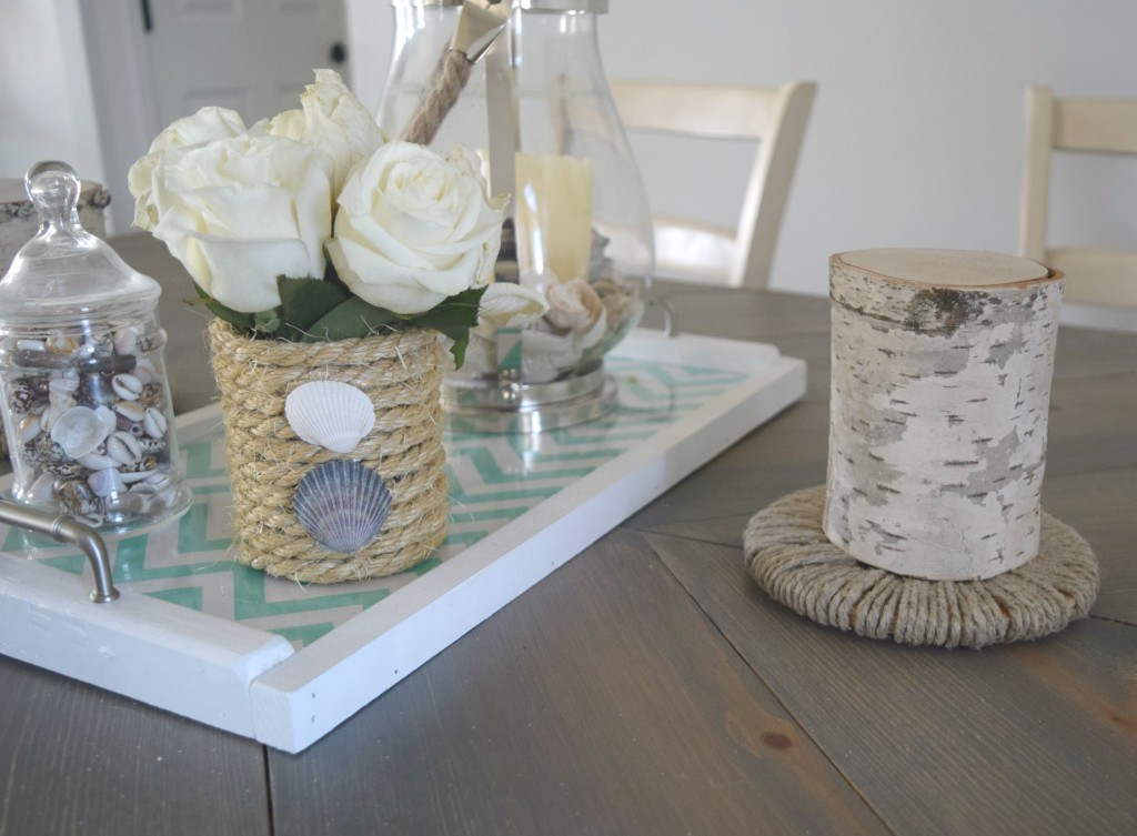 using rope for decor