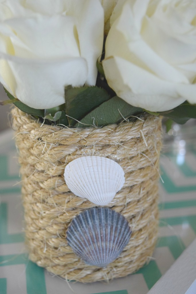 using shells for decor