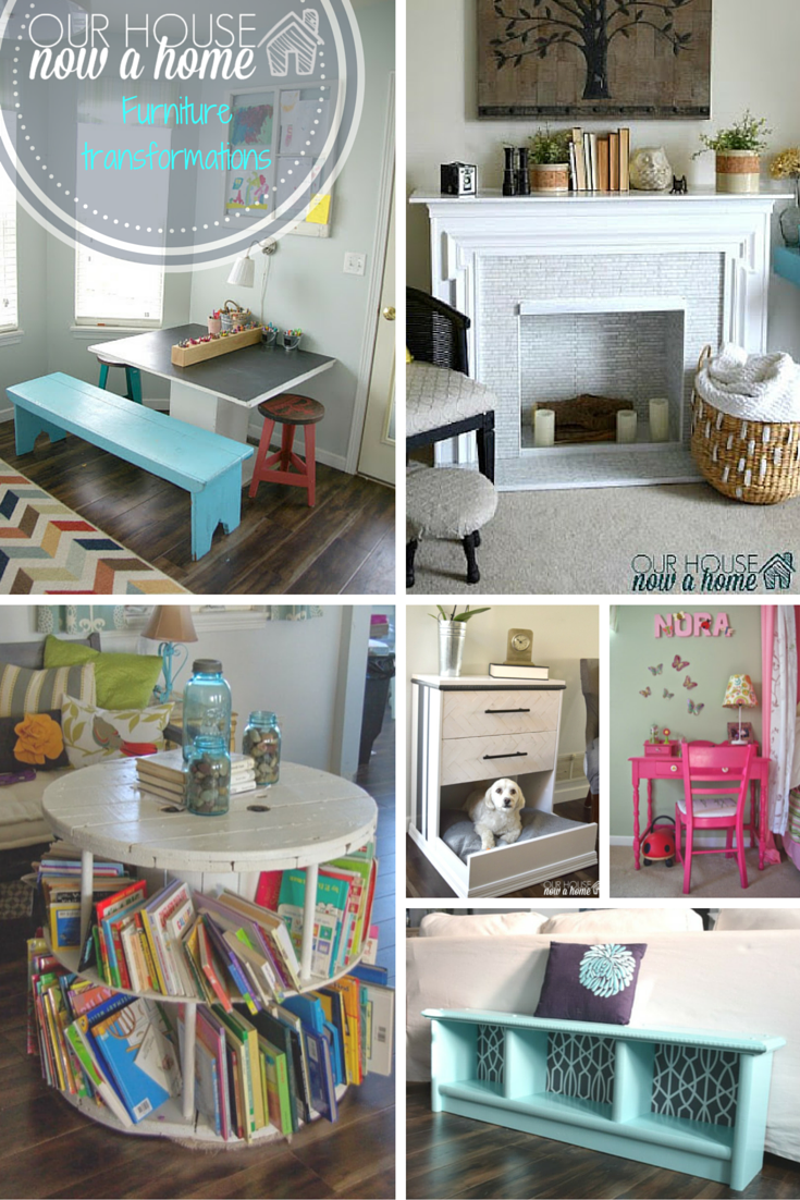 Home inspiration week 6, furniture redo's