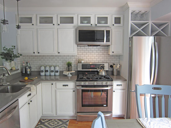Kitchen-Makeover-Soffit-Area-the-Honeycomb-Home-550x412