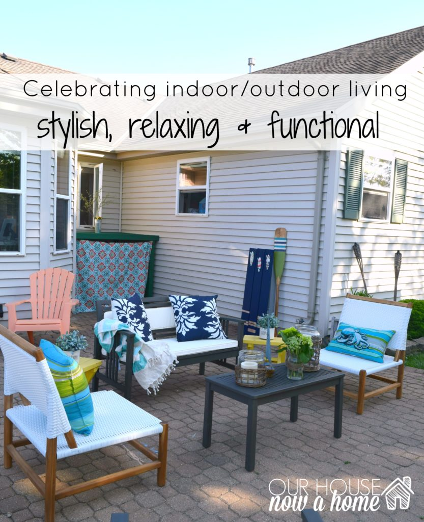 celebrating outdoor living