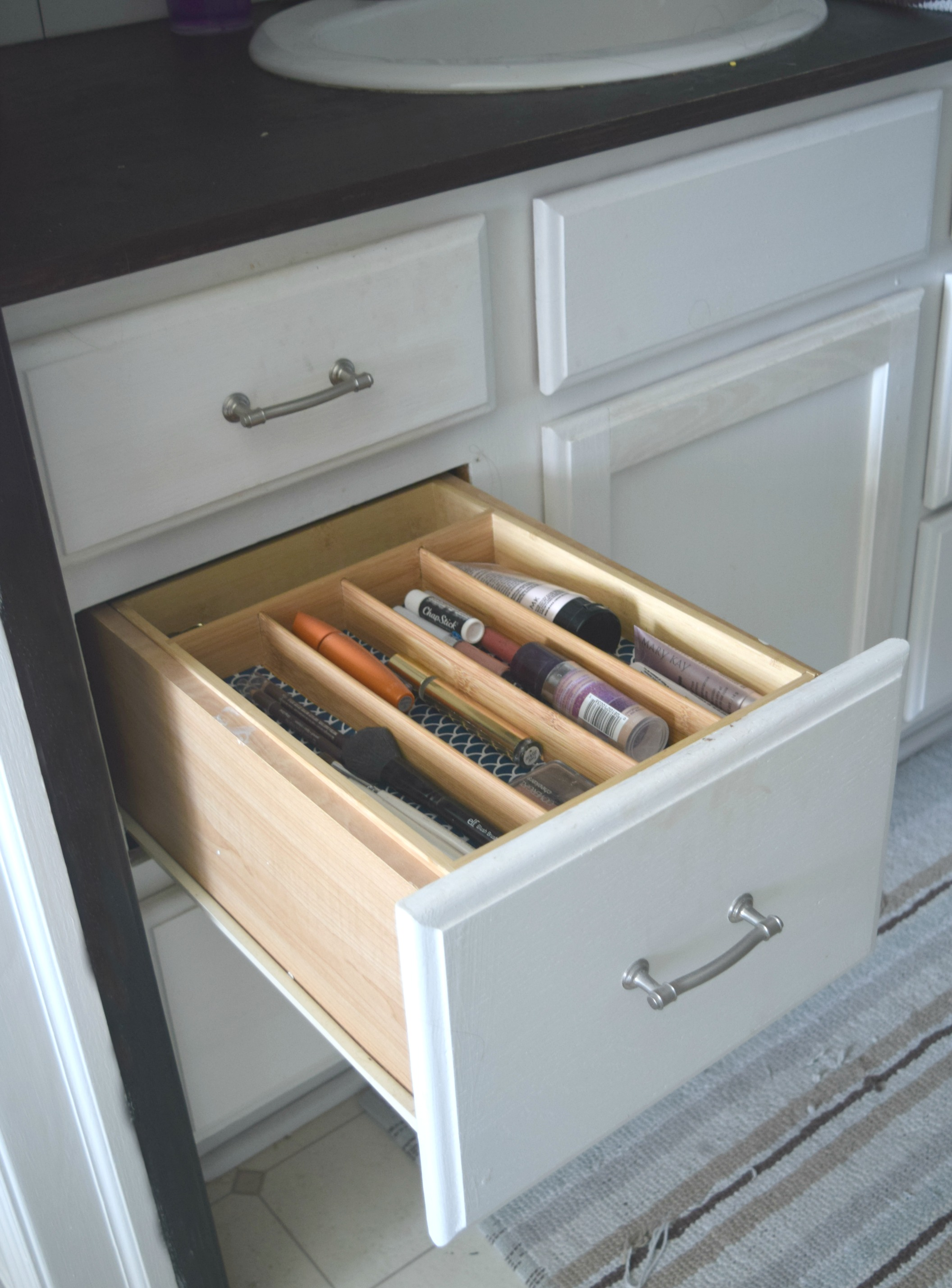 Simple ways to organize bathroom drawers • Our House Now a ...