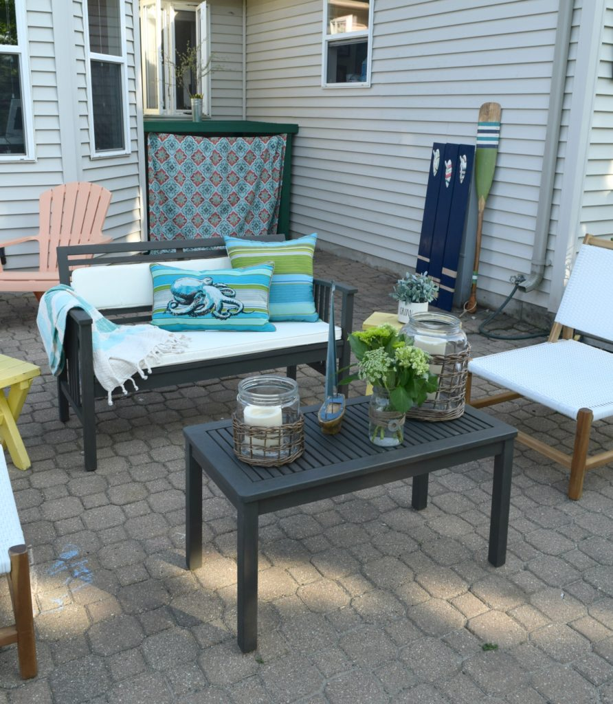 simple ways to update outdoor space