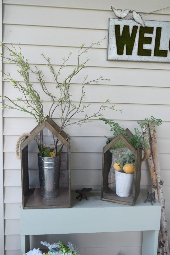 decorating with nature