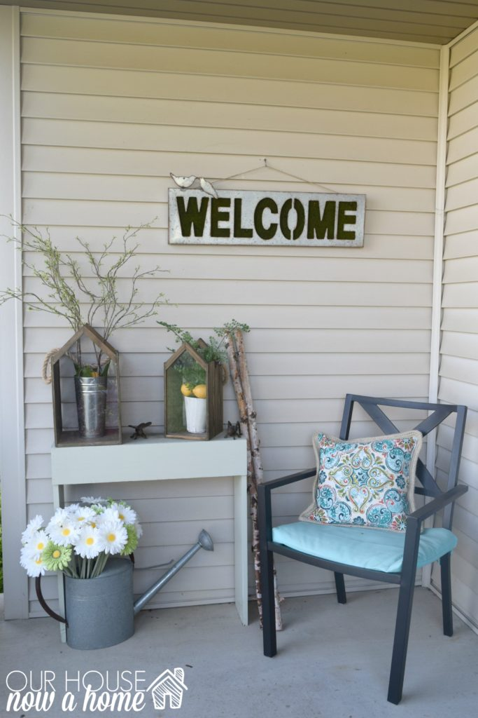 front porch decor