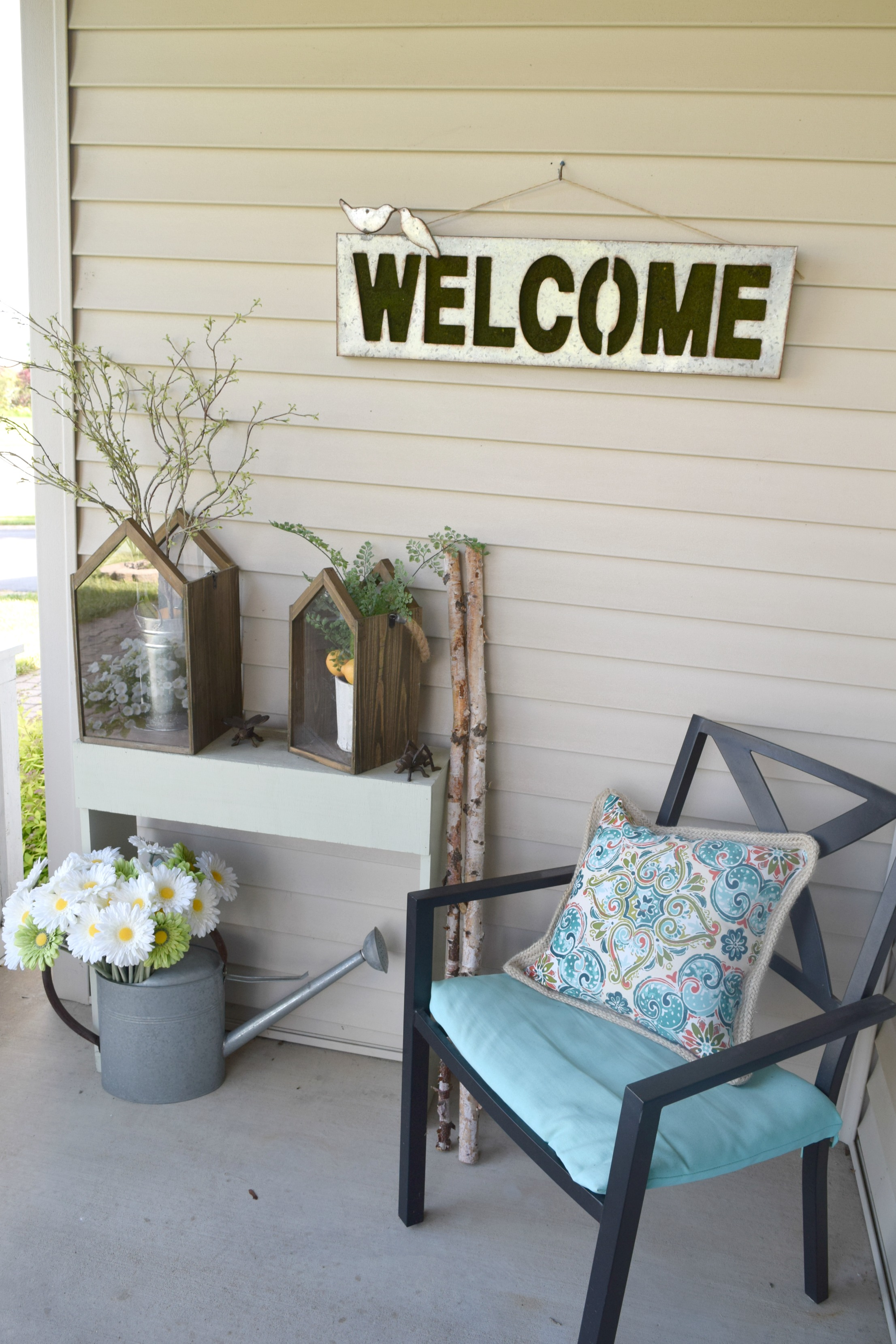 Front porch decor ideas our house now a home for Home front decor ideas