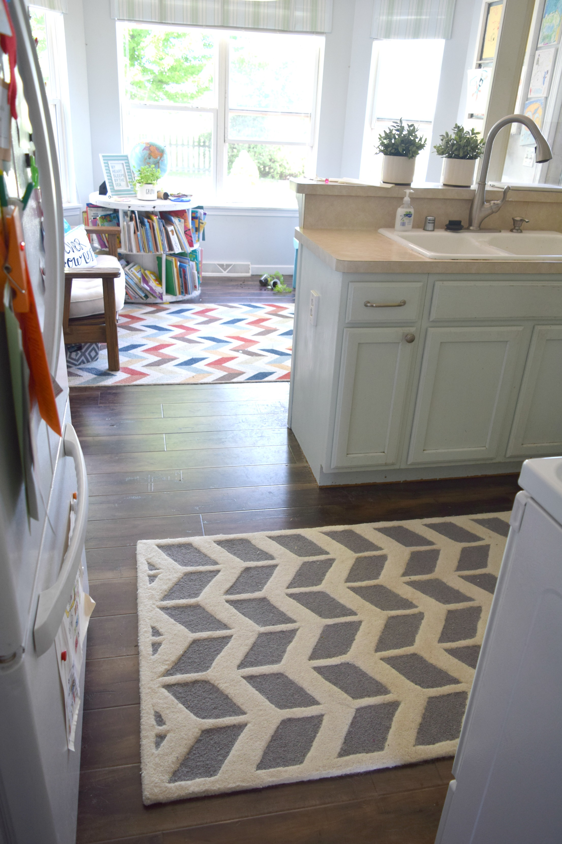 New rugs for the home a small change makes a big difference • Our