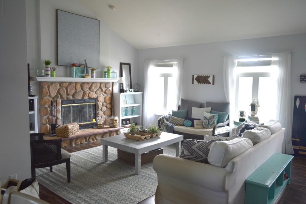 simple updates to living room